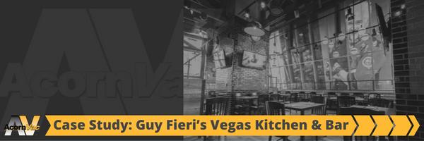Guy Fieri's Vegas Kitchen and Bar AcornVac Installation