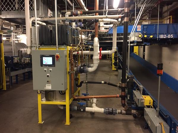 AcornVac vacuum plumbing installation in San Jose Airport
